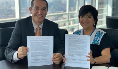 Firman Conavi y Coesvi Chihuahua convenio para que familias de la entidad accedan a vivienda adecuada