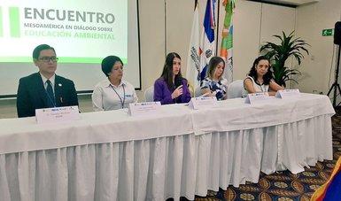 Participación de Semarnat en el II Encuentro Mesoamericano de Educación Ambiental