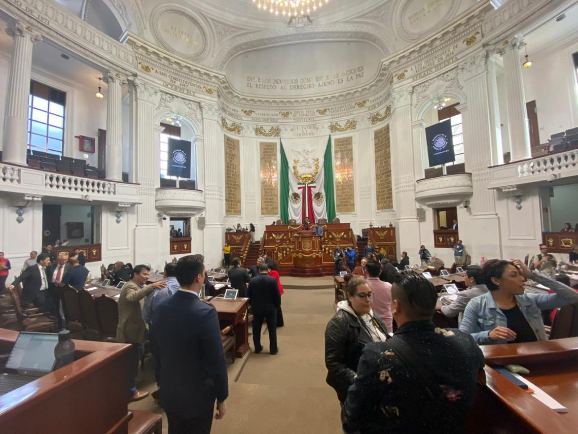 En el Congreso de la CDMX presentan iniciativas en temas laborales y de jubilación
