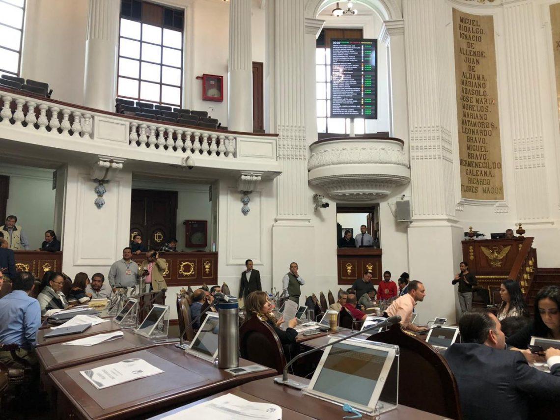 Diputados presentan exhortos a titulares de las alcaldías de Miguel Hidalgo, Benito Juárez y Xochimilco, así como a la Secretaría de Medio Ambiente