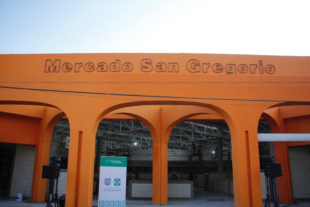 Registra 80 por ciento reconstrucción del Mercado San Gregorio Atlapulco