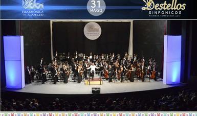 Orquesta Filarmónica de Acapulco cierra temporada