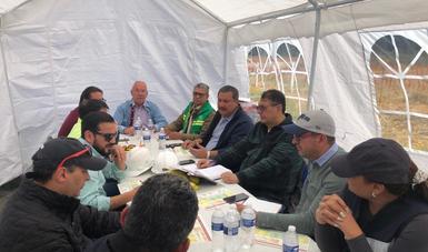 Mantiene Gobernación mesa permanente de diálogo interinstitucional con comuneros por obra de Tren Interurbano