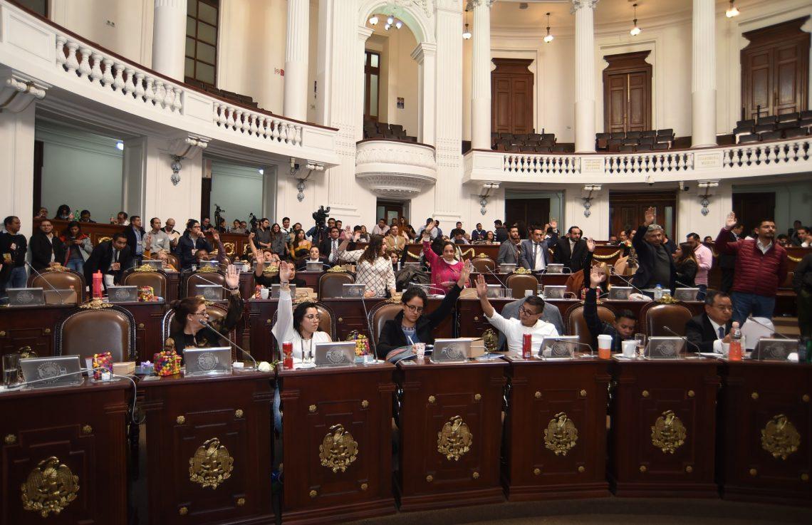 Con recursos totales por más de 238 mil 975 millones de pesos, el Congreso local aprobó el Paquete Económico 2020 para la Ciudad de México