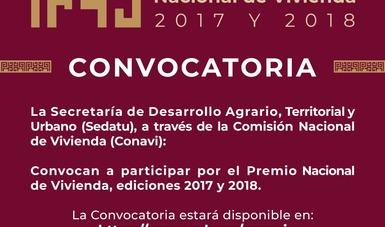 Invita Conavi a participar por el Premio Nacional de Vivienda