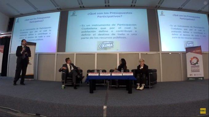 Expone consejero del IECM, bondades de la nueva Ley de Participación Ciudadana de la Ciudad de México