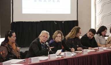 Necesario que todas las instituciones del Estado mexicano impulsen la ENAPEA: secretaria Olga Sánchez Cordero