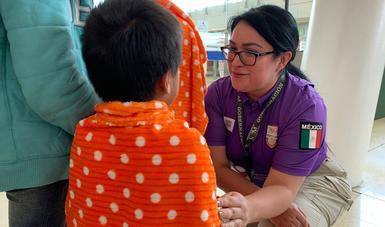 Recibe INM a 132 personas mexicanas repatriadas de Estados Unidos dentro del Procedimiento de Repatriación al Interior de México
