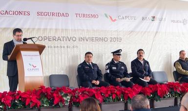 """Banderazo de inicio de Operativo """"Invierno 2019"""""""