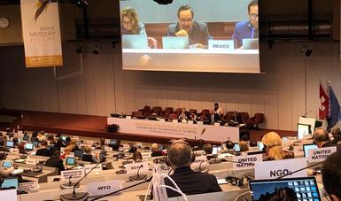 México ratifica su compromiso para la eliminación de la producción primaria de mercurio