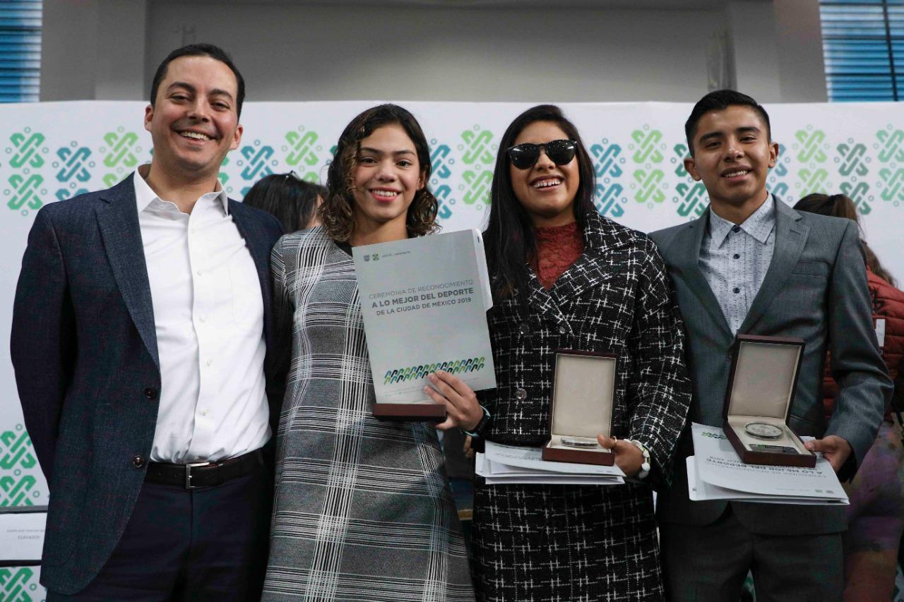 Reconoce la Ciudad de México a sus mejores deportistas de 2019
