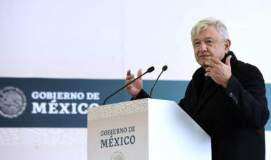 En Ciudad Hidalgo, presidente inaugura Unidad 18 de la Central Geotermoeléctrica 'Los Azufres'