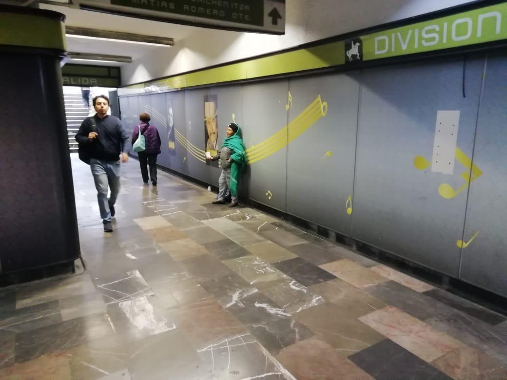 Historias en el metro - Paloma dónde vienes
