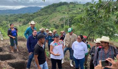 Supervisa María Luisa Albores avances de Sembrando Vida en Chiapas