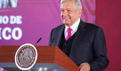 Presidente López Obrador llama a alejar cualquier tentación de vulnerar la soberanía de México