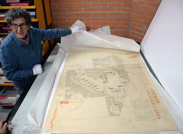 Archivo Histórico de la UNAM resguarda la memoria de la universidad y el país