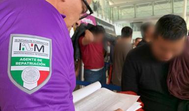 Reporta INM registro de 207 mil 741 personas mexicanas repatriadas provenientes de Estados Unidos y Canadá