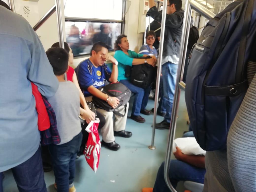 Historias en el metro - El misterio del champú