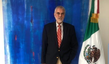 México envía nuevo encargado de Negocios ad interim a la Embajada de México en Bolivia