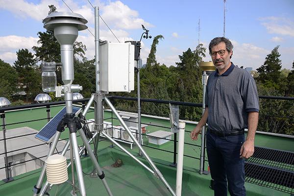 La Red Universitaria de Observatorios Atmosféricos pone en acceso abierto datos científicos