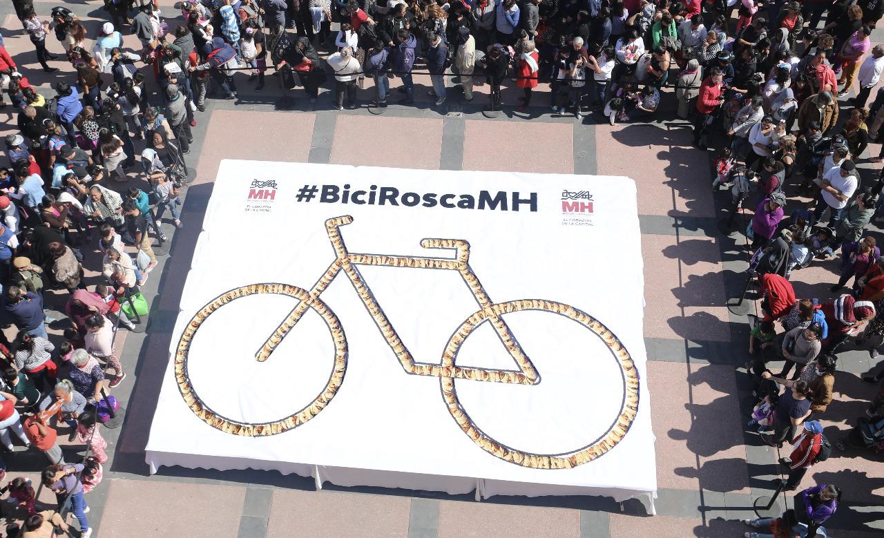Miguel Hidalgo parte #BiciRoscaMH
