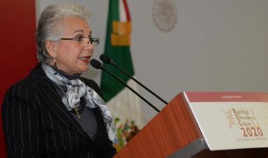 Palabras de la secretaria de Gobernación, Olga Sánchez Cordero, durante la XXXI Reunión de Embajadores y Cónsules.