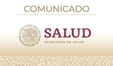 Comunicado de la Secretaría de Salud a la opinión pública