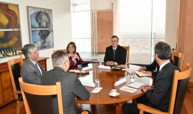 Se reúne el secretario de Relaciones Exteriores con el secretario general adjunto para Operaciones de Paz de las Naciones Unidas