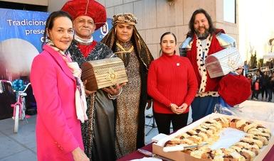 Compartió el CECUT Rosca de Reyes con la comunidad