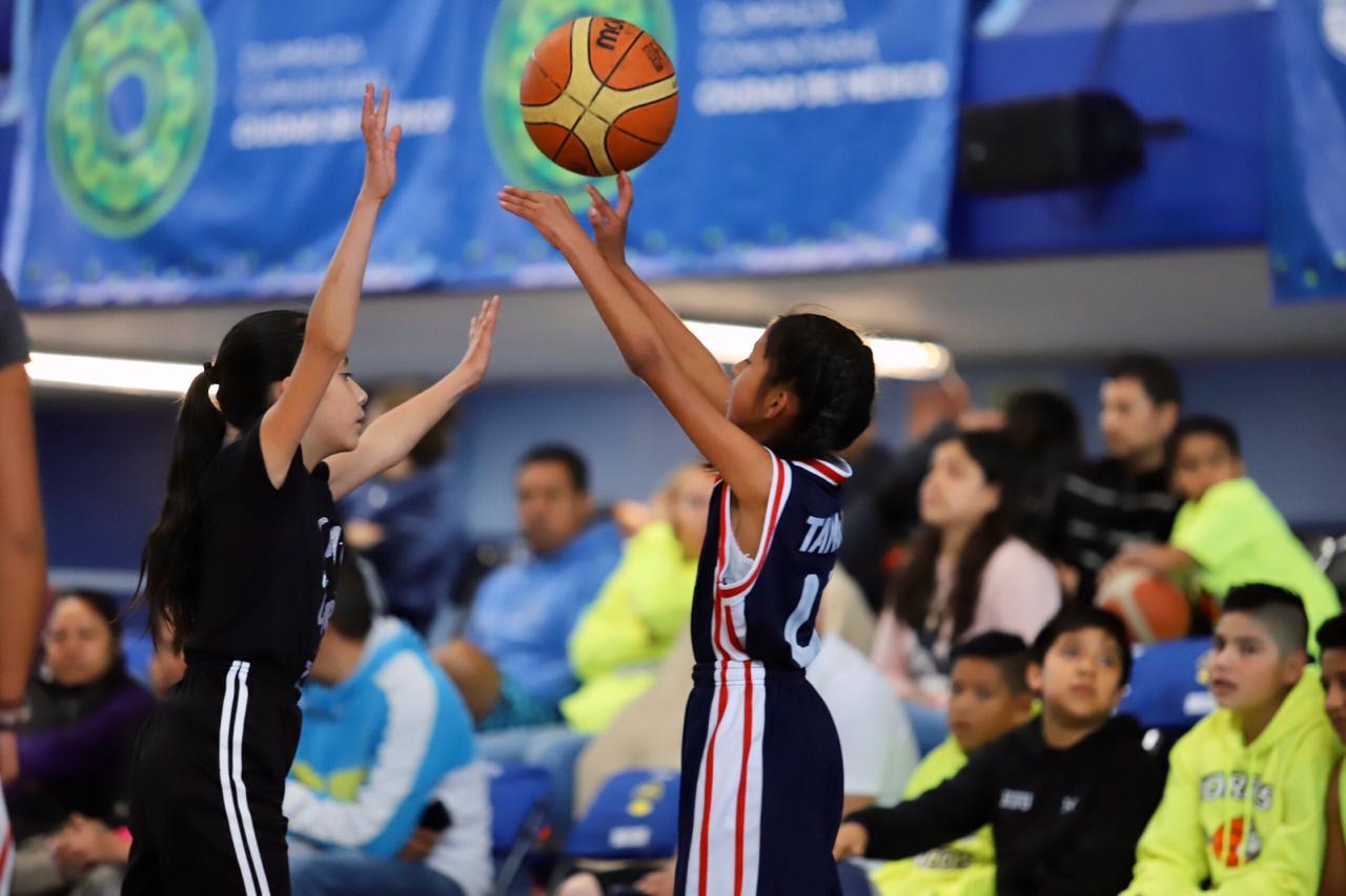 Con 31 partidos en el Palacio de los Deportes se realizará la fase final del baloncesto de la Olimpiada Comunitaria