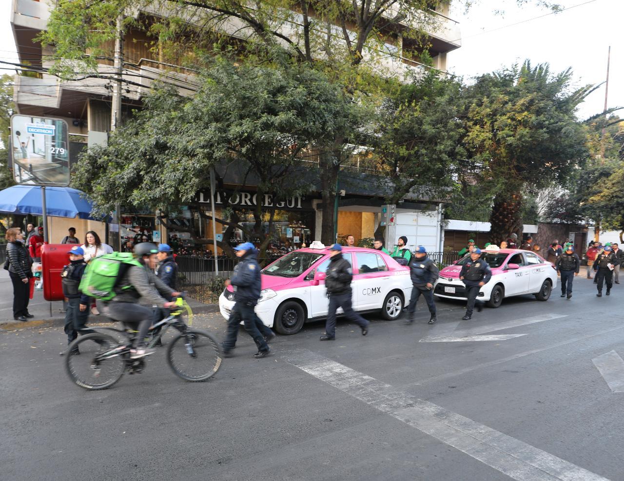 Pone orden alcaldía Miguel Hidalgo en metro polanco