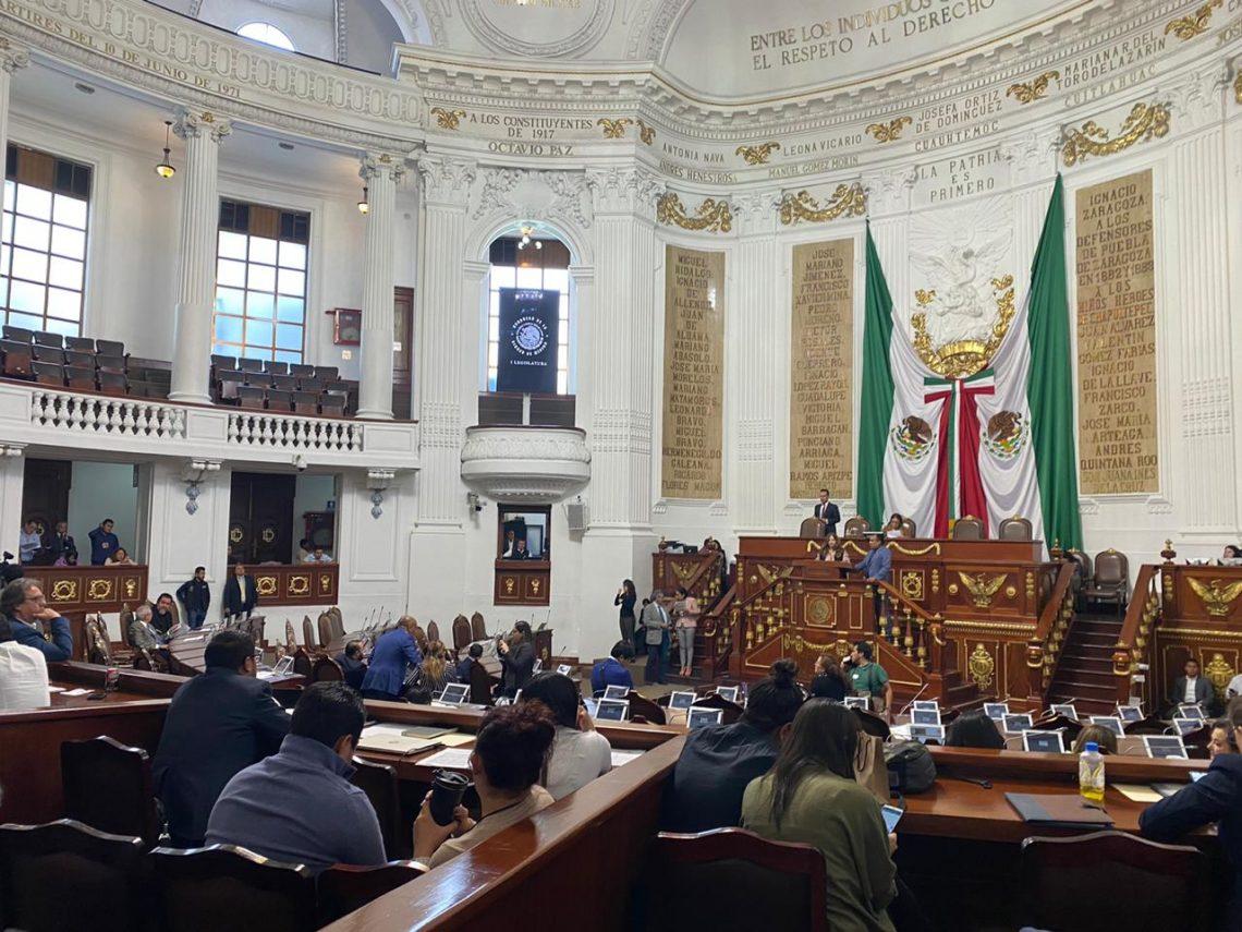 Proponen que el Congreso de la CDMX sea observador en la designación de la persona titular de la Fiscalía para la Investigación de Feminicidio