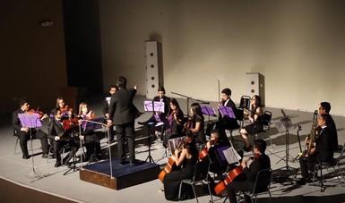 La Orquesta Juvenil Franz Schubert lleva música de cámara a la comunidad Chihuahuense
