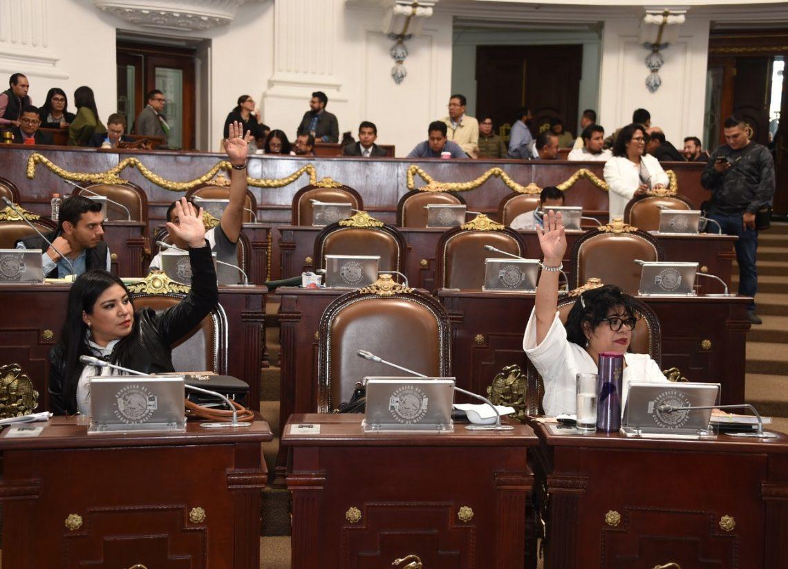 Aprueban legisladores locales diversos puntos de acuerdo dirigidos a las autoridades de la Ciudad de México