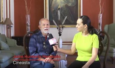 Una charla con Jaime Humberto Hermosillo  desde la Cineteca Zacatecas