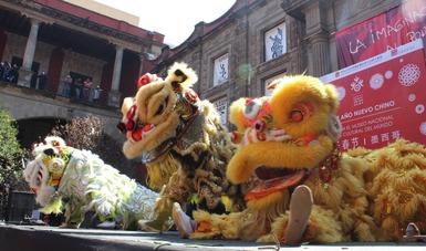 Danzas, música, charlas y artes marciales en festejo del Año Nuevo Chino en el Museo Nacional de las Culturas del Mundo