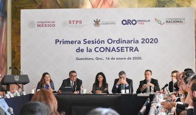 """Presenta STPS estrategia nacional """"Mes 13"""" para Jóvenes Construyendo el Futuro ante titulares de Trabajo de todo el país"""