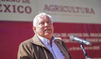 Concreta Agricultura descentralización de Segalmex en Zacatecas