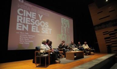 Cine y riesgos en el set: expertos en la materia discutieron en mesa organizada por el CCC
