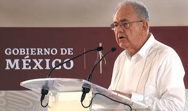 """Se entrega el primer camino rural, """"bien hecho y libre de corrupción"""": Jiménez Espriú"""