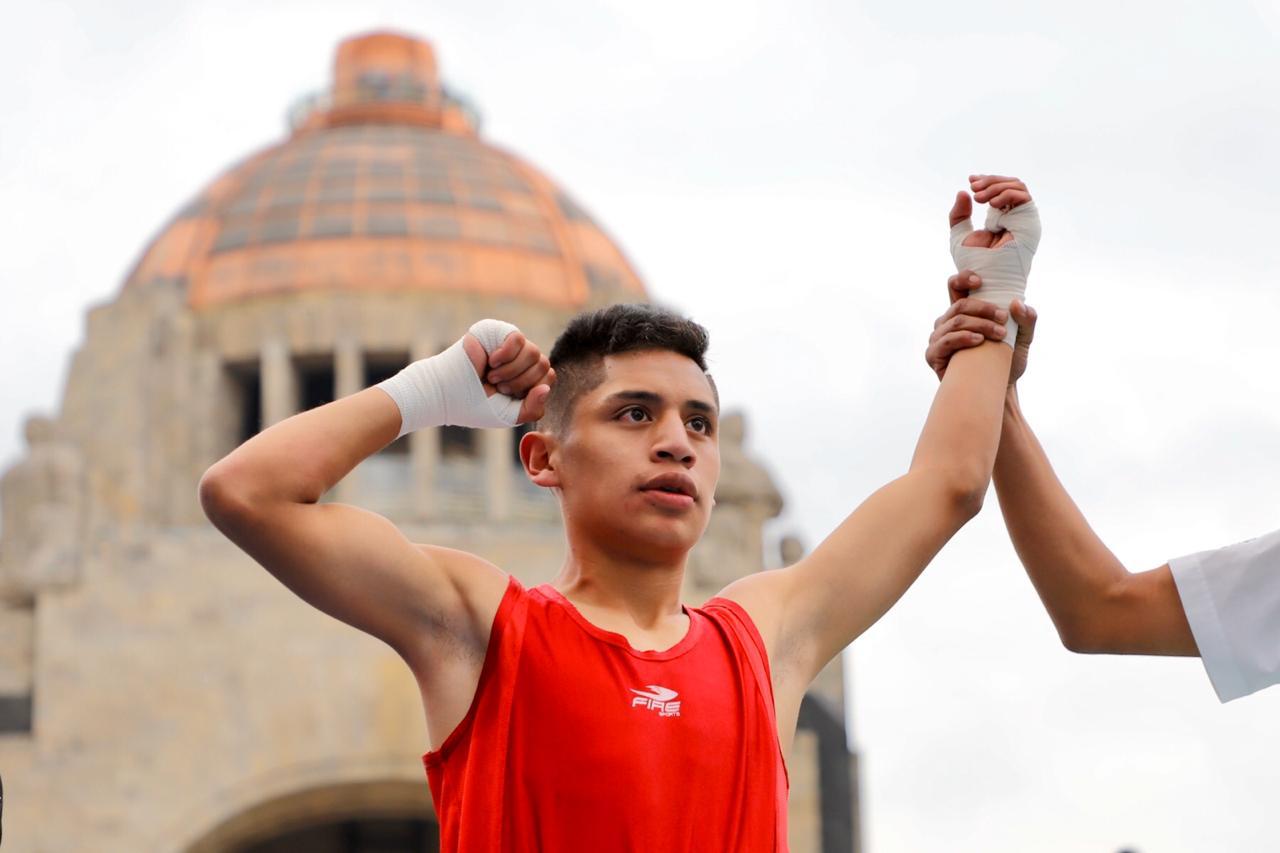 Entrega Jefa de Gobierno medallas a finalistas de boxeo de la Olimpiada Comunitaria