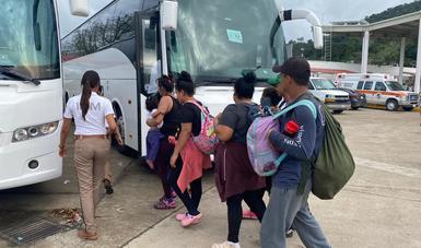 Hace valer Gobierno de México legislación migratoria y ordena acceso frente a caravanas