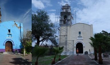 En Morelos concluye restauración de la mitad del patrimonio construido, afectado por los sismos de 2017