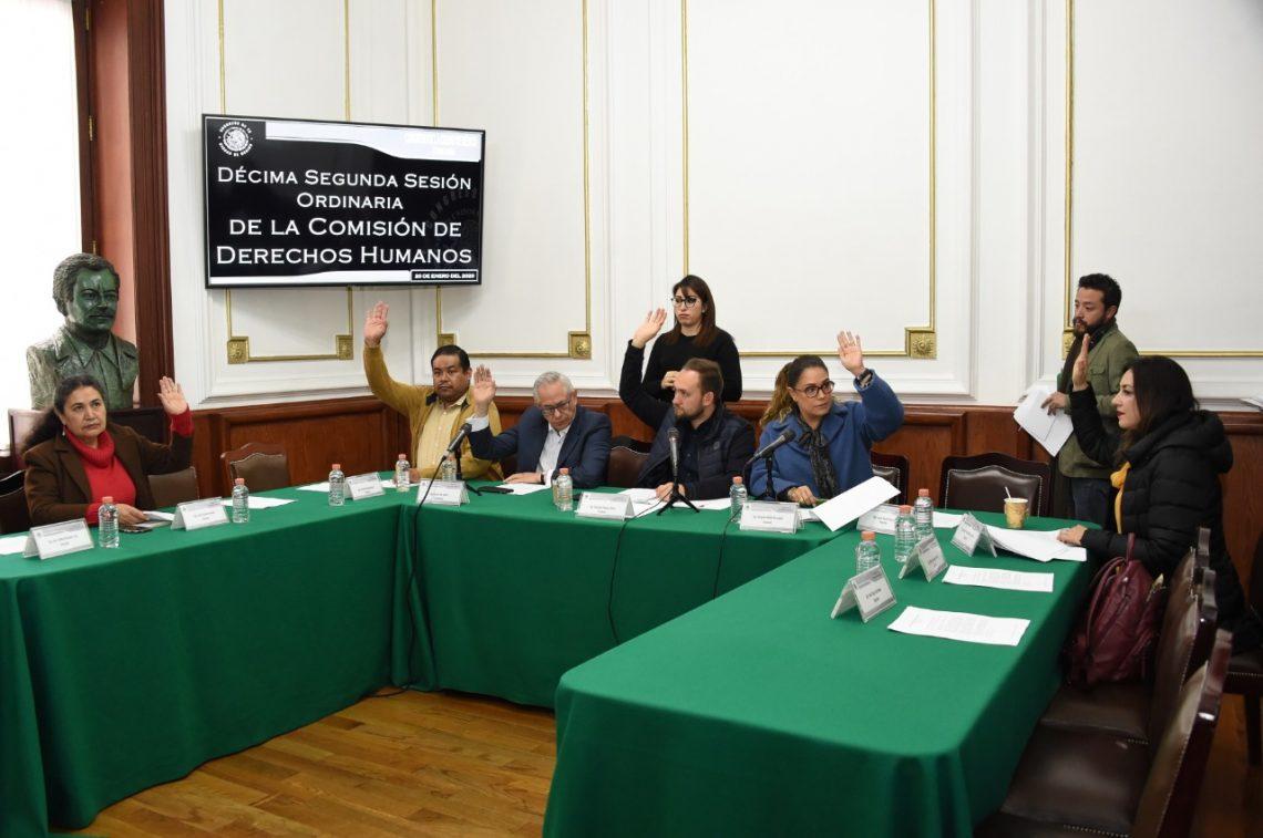 Aprueban formato de entrevistas para las personas candidatas a Consejeras y Consejeros Honorarios de la Comisión de Derechos Humanos local