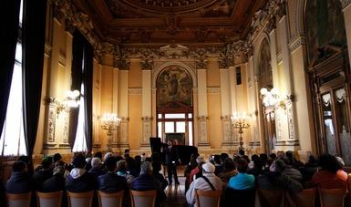 Ganadores del Concurso de Canto Maritza Alemán compartieron su talento con visitantes al Munal
