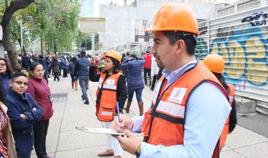 Con simulacros se capacita a personal ante un sismo: Secretaría de Bienestar
