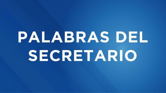 Palabras del Secretario de Seguridad Ciudadana, Omar García Harfuch, durante la presentación del Plan de Recuperación del Centro Histórico