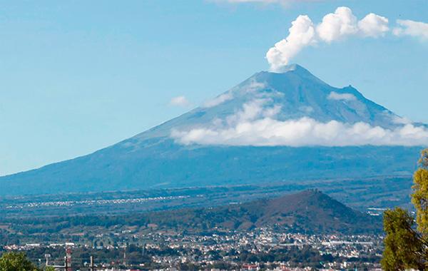 Mejor vigilancia del Popocatépetl con las nuevas tecnologías
