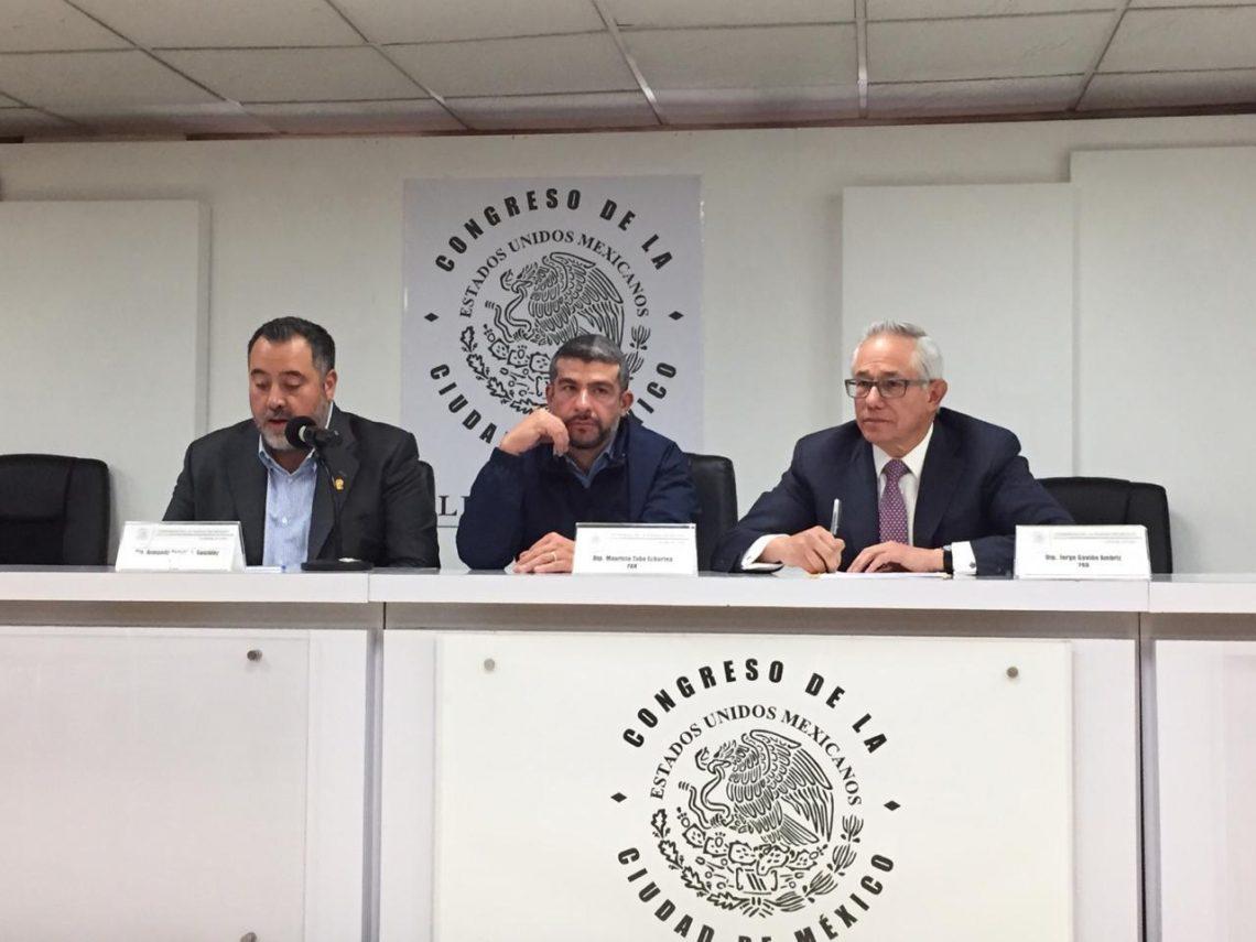 Coordinadores del PAN, PRD y PRI, integrantes de Jucopo, critican propuesta de ajuste al presupuesto del Congreso local