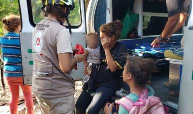 Rescata INM a 800 personas migrantes centroamericanas que ingresaron hoy de manera irregular a México